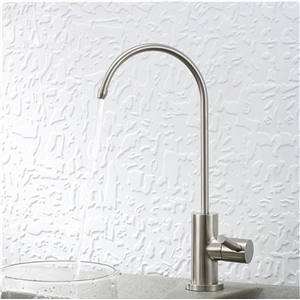 Stainless Steel Kitchen Faucet Brushed Nickel Round Kitchen Tap