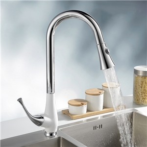 Pull Down Kitchen Faucet High Arc Kitchen Tap
