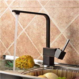 Square Black Kitchen Faucet Special Tall Kitchen Tap