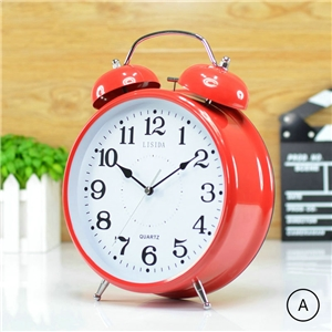 Modern Table Clock Simple Desk Clock Height 30cm(12inch)Mute Tabletop Clock N402