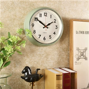 Large Round Wall Clock Creative Non Ticking Clock Decorative Clock 28cm(11inch)HG307