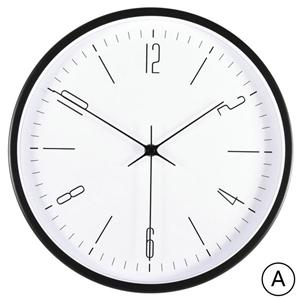Contemporary Creative Wall Clock Simple Non Ticking Clock Decorative Clock 200B