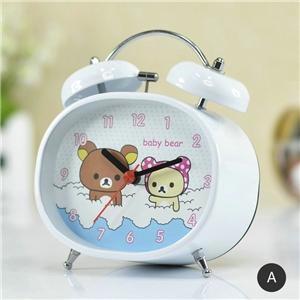 Cute Cartoon Table Clock Special Shape Alarm Clock Modern Desk Clock N303