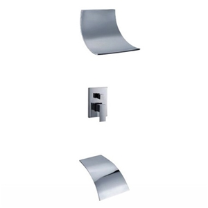 Contemporary Waterfall Shower Faucet Specail Shower System In Wall