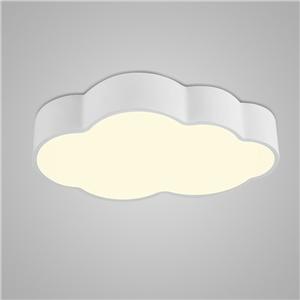 Nordic Modern LED Flush Mount Cloud Shape Bedroom Living Room Kitchen Lighting