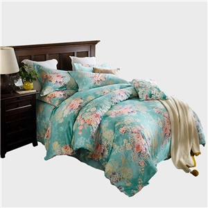 Wonderful Flowers Bedding Set Soft Skin-friendly Bedclothes Pure Cotton 4pcs Duvet Cover Set