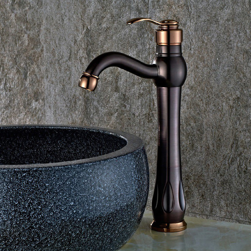 Elegant Bathroom Sinks: Antique Bathroom Sink Faucet Elegant Oil Rubbed Bronze