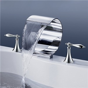 Mooni Waterfall Tub Faucet Modern Elegant Bathtub Tap