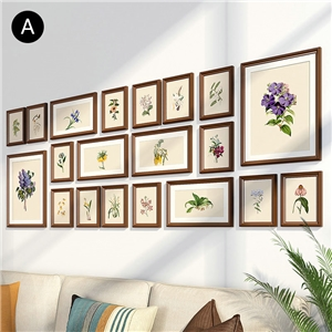 Creative Picture Frame Solid Wood Photo Wall Simple Photo Frame 20pcs/set YO12