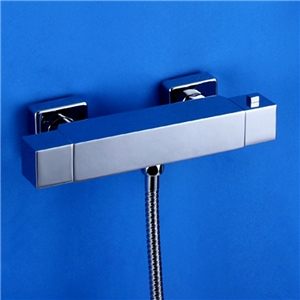 Square Thermostatic Shower Valve Double Handles Shower Valve