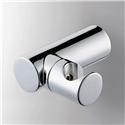 Round Chrome Handheld Shower Holder Wall Mount Brass Handshower Holder