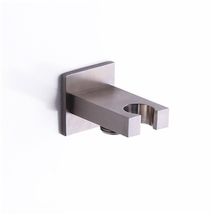 Square Wall Mounted Hand Shower Holder Stainless Steel Hand Shower Holder