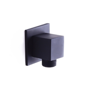 Solid Brass Square Water Supply Elbow Water Supply Pipe Interface for Hand Shower