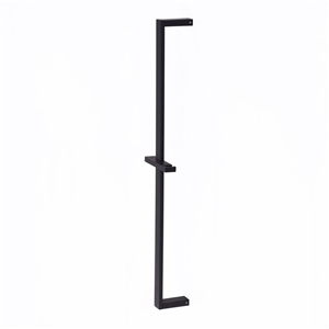 Solid Brass Hand Shower Bar Black Wall Mounted Adjustable Bar