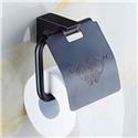 European Style Bathroom Products Bathroom Accessories Copper Art Black Retro Toilet Roll Holders