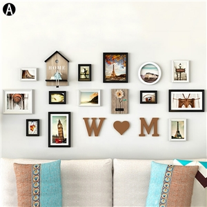 Fashion Picture Frame Home Decor Photo Wall Photo Collection Set 13pcs/set YMQZPQ13XW