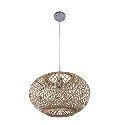 Lantern Style Bamboo Pendant Light