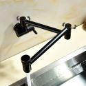 Antique Pot Filler Faucet  Kitchen Faucet Wall Mount Flodable Tap