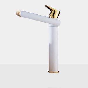 Special Swivel Basin Faucet Modern White Sink Tap