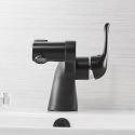 Unusual Black Faucet Modern Basin Tap