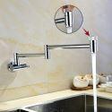Creative Modern Pot Filler Faucet Modern Chrome Kitchen Tap