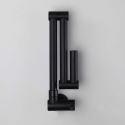Wall Mount Kitchen Faucet Black Pot Filler Faucet Creative Foldable Tap
