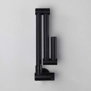 Creative Foldable Kitchen Faucet Modern Black Kitchen Tap