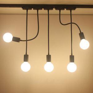 Special Cord Spotlight Exposed Long Arm Spotlight Clothing Shop Backdrop Lighting(Single Light)