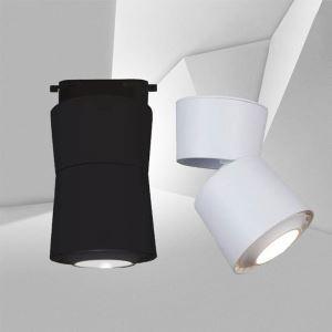 Modern LED Spotlight Exposed Ceiling COB Light Background Wall Lighting(Single Light)