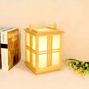 Chinese Vintage Table Lamp Creative Simple Table Lamp Japanese Style Lighting