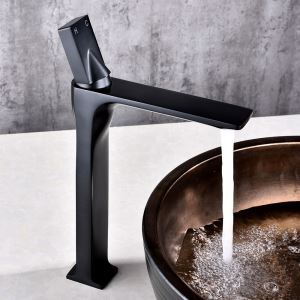 Innovative High Basin Faucet Stoving Varnish Bathroom Sink Tap