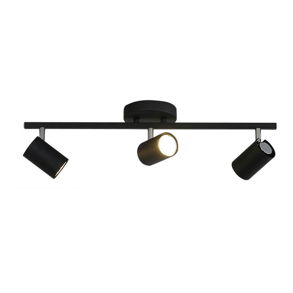 Nordic Track Light Modern Ceiling Spotlight Exposed Living