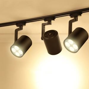 Industrial Black Spotlight 35W Traditional Track Light(Single Light)