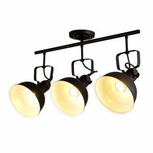 Industrial Retro Spotlight Vintage Black Rusty Ceiling Light