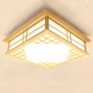 Special LED Ceiling Light Classical Wooden Ceiling Light Living Room Bedroom Dining Room Lighting