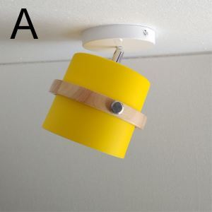Round Macaron Spotlight Chromatic Aisle Ceiling Light(Single Light)
