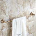 Antique Brass Towel Bar
