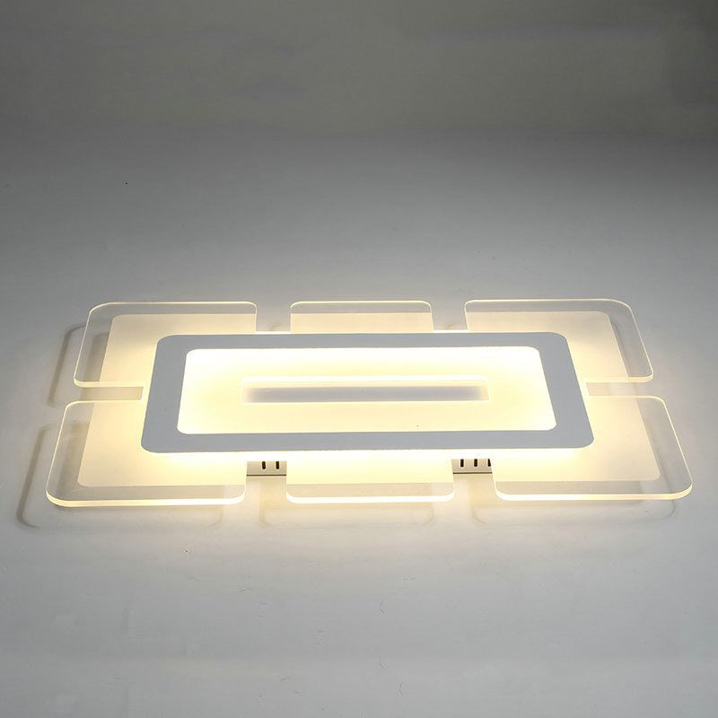 Modern Ceiling Light Led Flush Mount Ultrathin Fixture