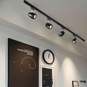 Nordic Simple Spotlight Elliptical Ceiling Light Modern Track Light(Single Light)