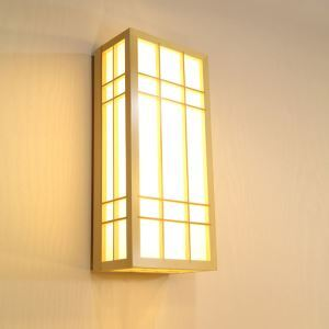 Modern Rectangle Wall Sconce Creative Simple Large Wall Light Bathhouse Steam Room Lighting