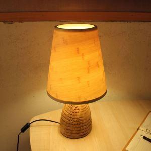 Rural Creative Table Lamp Simple Bedside Desk Lamp Study Room Lighting