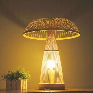 Mushroom Shape Table Lamp Japanese Simple Desk Lamp Living Room Bedroom Light