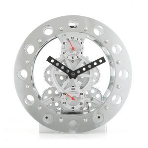 Modern Mechanical Gear Tabletop Clock 8inch