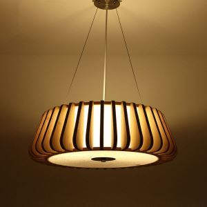Nordic Modern Pendant Light Creative Bamboo Pendant Light Special Living Room Bedroom Coffeehouse Lighting