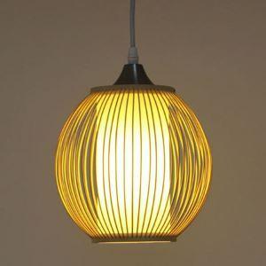 Modern Rural Pendant Light Simple Bamboo Pendant Light Study Hallway Bedside Lighting