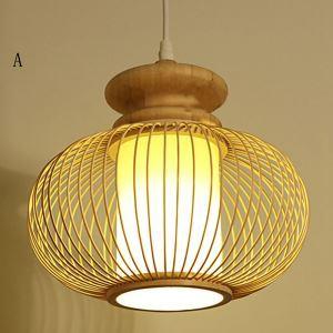 Nordic Exquisite Pendant Light Simple Dining Room Bamboo Pendant Light Living Room Decorative Lighting