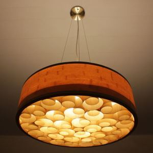 Hand Woven Bamboo Pendant Light Retro Style Ceiling Light Living Room Bedroom Light