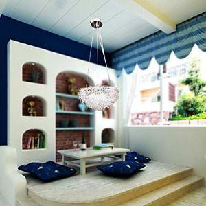 Bird Nest Featured Pendant Light with 3 Lights