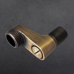 Lengthen Faucet Accessories Pipe Fitting Parts Shower Accessories Antique Bronze/Black