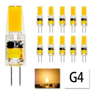 G4 LED Bulbs 10pcs Warm White Bulbs